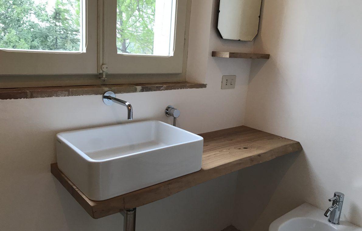 Mensola arredo bagno massello