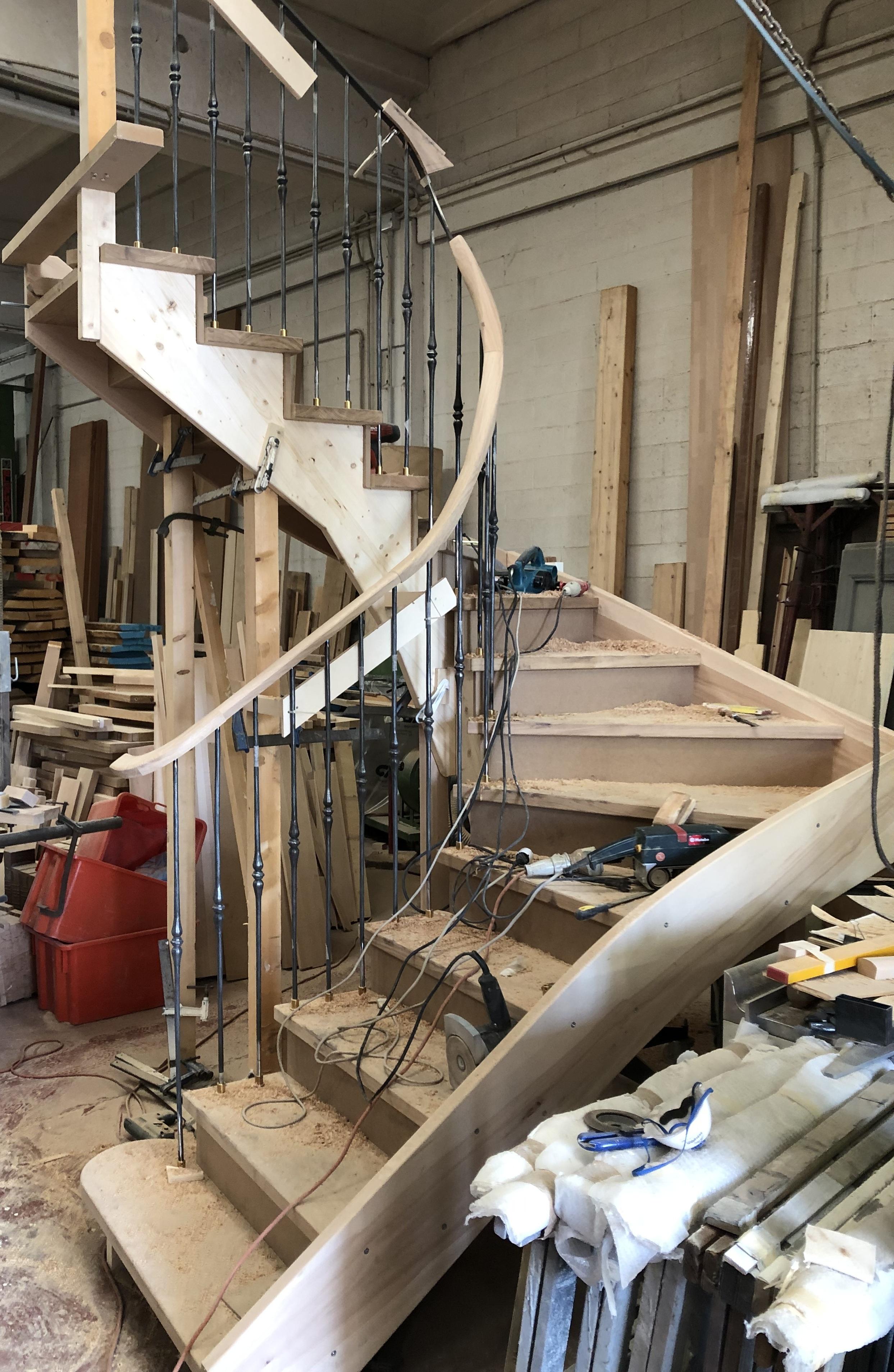 Scala in costruzione